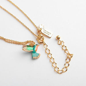 kate spade Jewelry - KATE SPADE Scenic Route Hummingbird Necklace